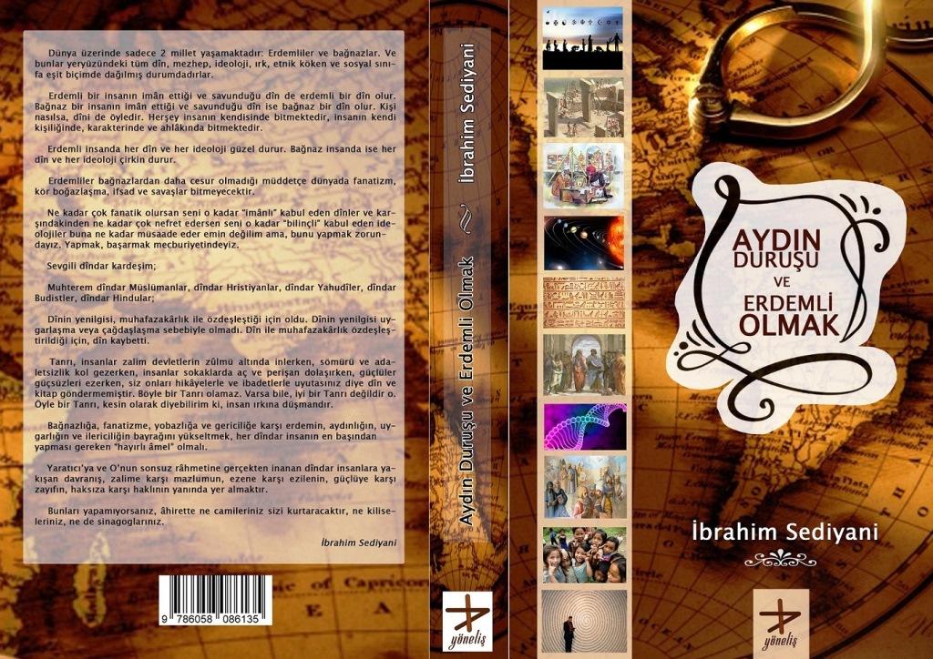 """Sediyani'nin """"Aydın Duruşu ve Erdemli Olmak"""" Kitabı Çıktı"""